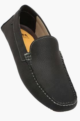 RED TAPE Mens Leather Slip On Loafers  ...