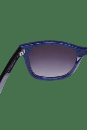 Womens Wayfarer Smoke Gradient Sunglasses-1310354352