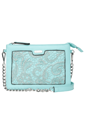 LAVIEWomens Eudora Zipper Closure 2 Compartment Sling Bag