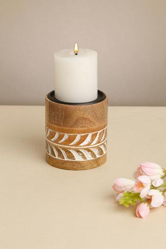 BACK TO EARTH -  NaturalCandle Holders - Main