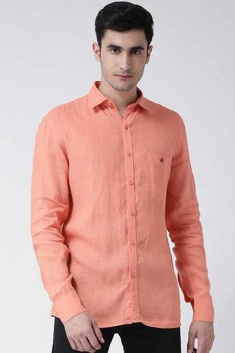 CRIMSOUNE CLUB -  OrangeCasual Shirts - Main