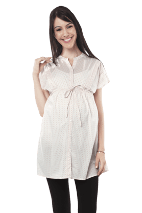 NINE MATERNITY Women Cotton Tunic