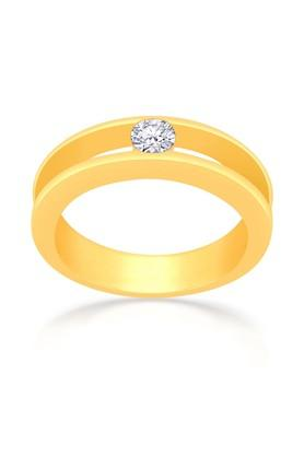 MALABAR GOLD AND DIAMONDS Mens Mine Diamond Ring R651134D Size 20