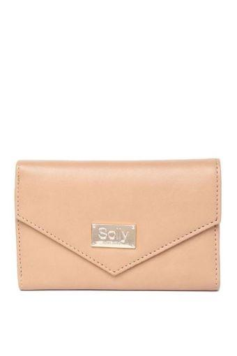 ALLEN SOLLY -  TanWallets & Clutches - Main