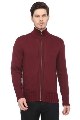 TOMMY HILFIGER -  BrownWinterwear - Main