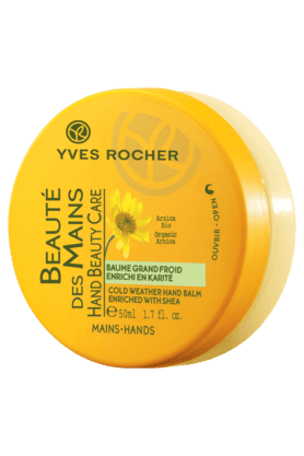 YVES ROCHER Hand Beauty Care Baume Cold Weather Hand Balm 50ML