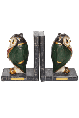 ADARA Owl Bookend Pair