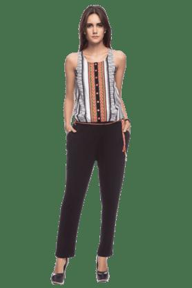 Womens Printed Jumpsuit