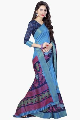 DEMARCAWomens Silk Designer Saree - 202338161