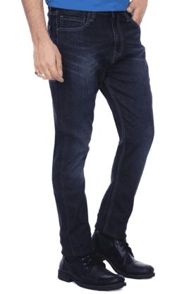 Mens 5 Pocket Slim Fit Stretch Jeans