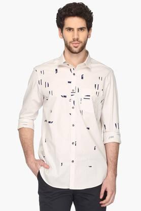 Vettorio Fratini Formal Shirts (Men's) - Mens Regular Collar Printed Shirt