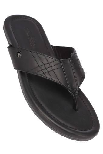 LOUIS PHILIPPE -  Black Slippers & Flip Flops - Main