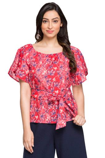 GLOBAL DESI -  Red Tops & Tees - Main