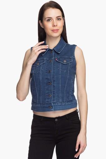 e34a52a9aca16d Buy LEVIS Womens Sleeveless Denim Jacket