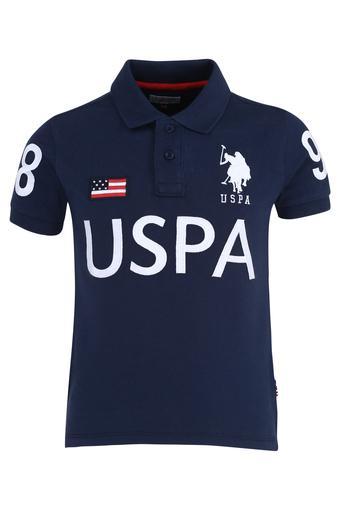 U.S. POLO ASSN. -  Mid BlueTopwear - Main