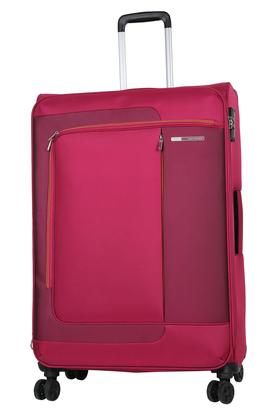 Unisex Zip Closure Soft Trolley