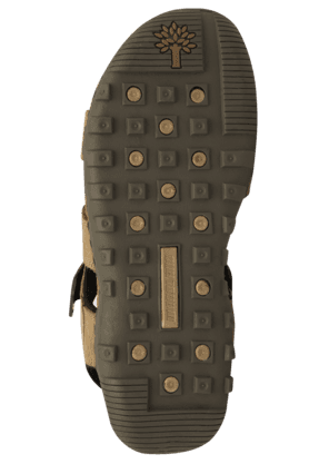 Mens Nubuck Olifel Velcro Closure Sandal