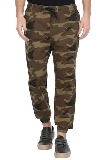AEROPOSTALE -  Olive Cargos & Trousers - Main