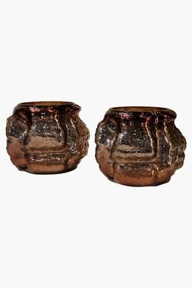 FOYER Tea-Light Candle Holder - Set Of 2 - 201720591