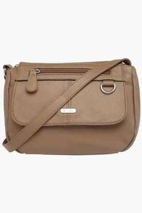 LAVIE Womens Synthetic Leather Zipper Closure Sling Bag