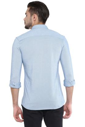 STOP - Sky Blue Formal Shirts - 1