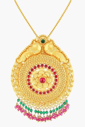 MALABAR GOLD AND DIAMONDSWomens 22 KT Gold Pendant