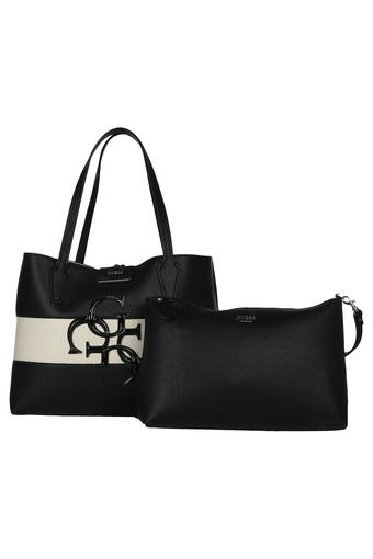 Womens Loop Closure Tote Handbag