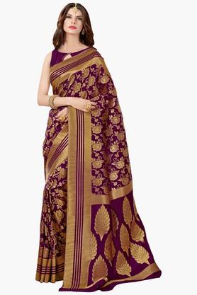 ASHIKA Womens Golden Weave Tussar Silk Saree - 201773719
