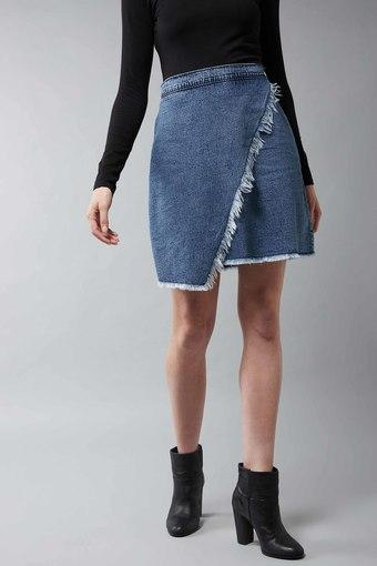DOLCE CRUDO -  Blue Skirts - Main