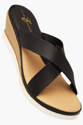 ELLIZA DONATEINWomens Daily Wear Slipon Wedge Sandal