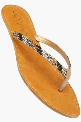 CATWALKWomens Casual Slipon Flat Sandals (Buy 2 Get Flat 33% On Lower MRP)