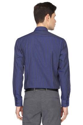 Mens Slim Collar Stripes Shirt