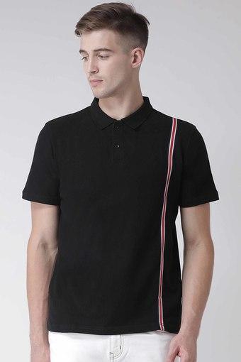REALM -  BlackT-Shirts & Polos - Main