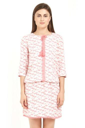 SOIE -  Flamingo Nightdress - Main