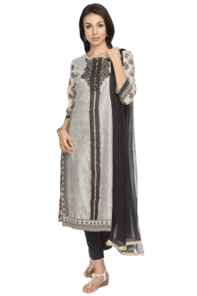 BIBA Womens Printed Salwar, Kurta And Dupatta Set - 200737365