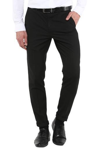 PARK AVENUE -  BlackCargos & Trousers - Main