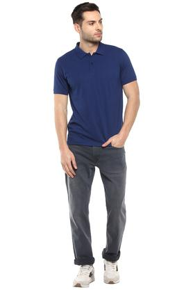 STOP - BlueT-Shirts & Polos - 3