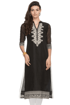 KASHISH Womens Embroidered Kurta