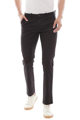 INDIAN TERRAIN -  BlackCasual Trousers - Main