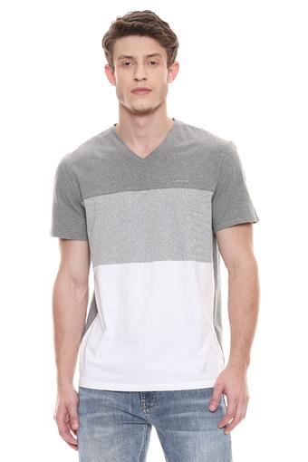 CALVIN KLEIN JEANS -  GreyT-Shirts & Polos - Main