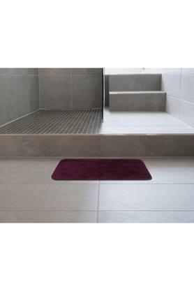 Rectangular Slub Texture Anti Skid Bath Mat