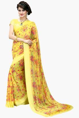 DEMARCAWomen Georgette Designer Saree - 202142756