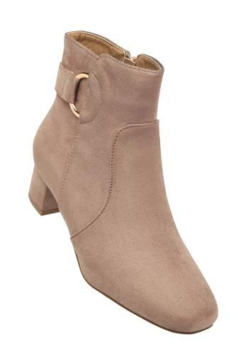 LEMON & PEPPER -  Taupe Boots - Main
