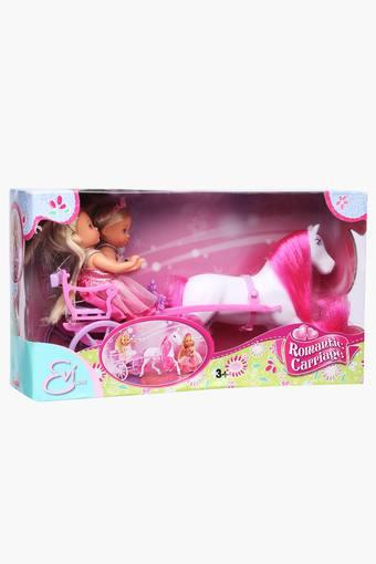 Steffi Love Evi 2 Dolls Carriage Set