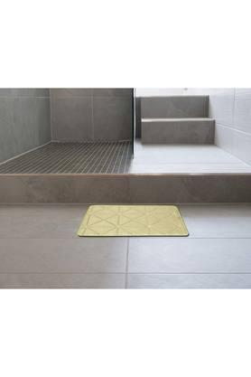 Rectangular Solid Memory Foam Brick Bath Mat