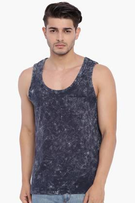BLUE SAINT Mens Regular Fit Vest
