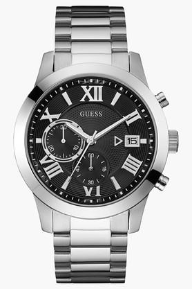 Mens Chronograph Stainless Steel Watch - W0668G3