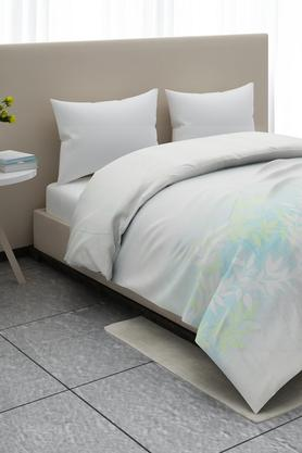 Printed Zeta Leaves Double Bed Comforter