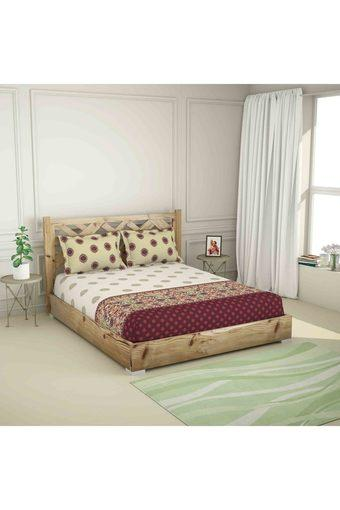 SPACES -  NaturalDouble Bed Sheets - Main