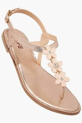 LIFE Womens Casual Wear Buckle Closure Flat Sandals - 202201570